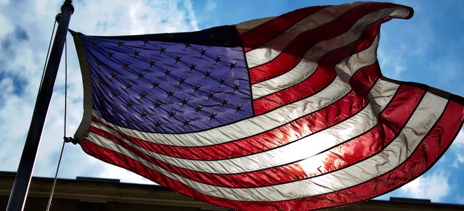 Flag-America-Vote